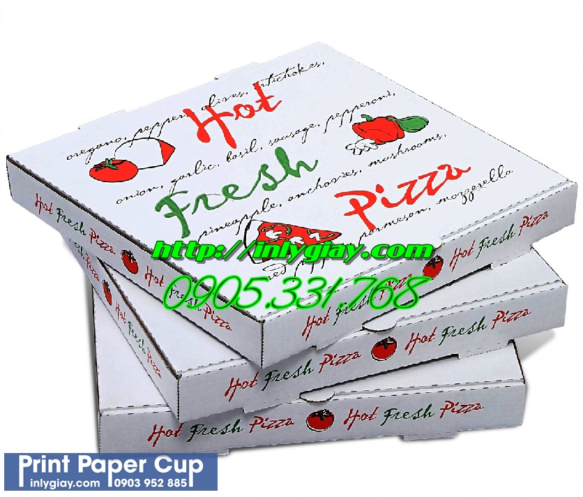 in hop banh pizza, cung cap hop banh pizza, hop pizza dep, in logo doc quyen hop banh pizza, in hộp bánh pizza giá rẻ,