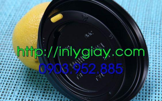 nap nong ly giay, nap nong mau den, nap danh cho ly giay, nap nong lanh, lid paper cups, nap ly take away