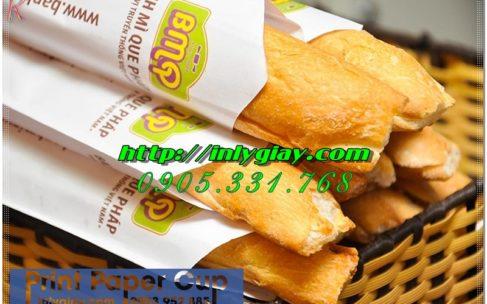 Túi giấy bao bánh mì